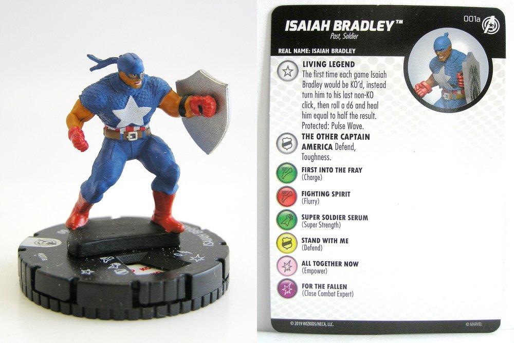 Heroclix Capitão América E Os Vingadores #002 Homem De Ferro