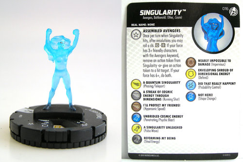 HeroClix - #016 Singularity - Captain America and the Avengers