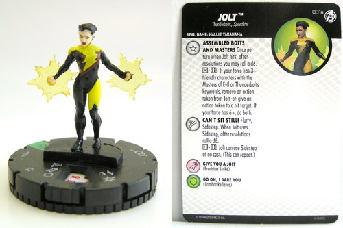 HeroClix - #031a Jolt - Captain America and the Avengers