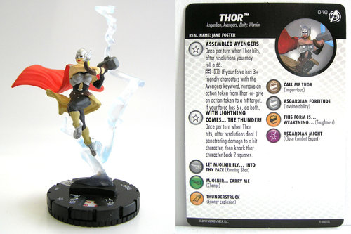 HeroClix - #040 Thor - Captain America and the Avengers