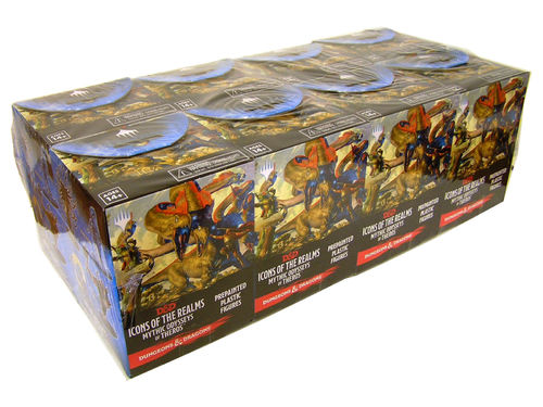 Dungeons&Dragons Icons of the Realms Set 15: Mythic Odysseys of Theros Booster Brick