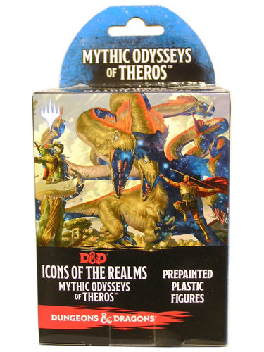 Dungeons&Dragons Icons of the Realms Set 15: Mythic Odysseys of Theros Booster Pack