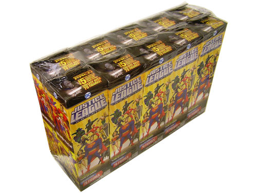 HeroClix Justice League Unlimited Booster Brick