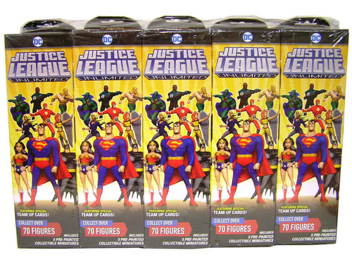 HeroClix Justice League Unlimited Booster Case