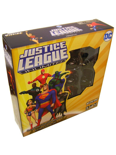 WZK73980 HeroClix Justice League Unlimited Starter Set