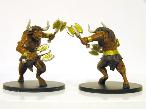 Pathfinder Battles - #028 Minotaur Large Figure - City of Lost Omens