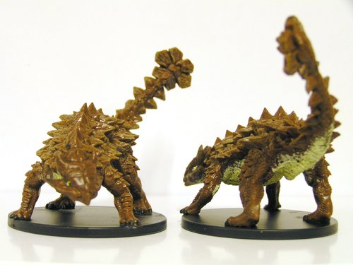 Pathfinder Battles - #029 Pinacosaurus Large Figure - City of Lost Omens