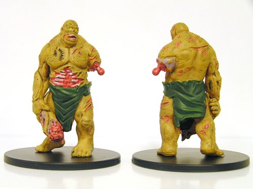 Pathfinder Battles - #031 Zombie Brute Large Figure - City of Lost Omens
