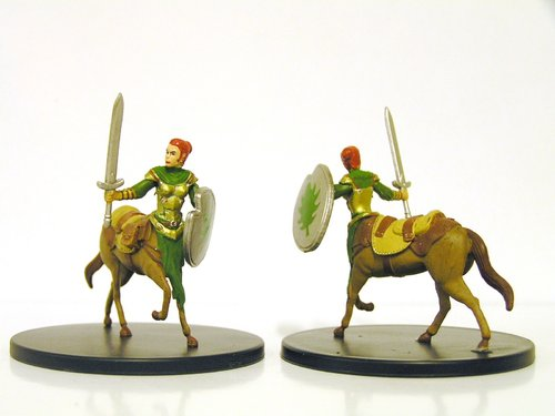 Pathfinder Battles - #032a Centaur Outrider Large Figure - City of Lost Omens
