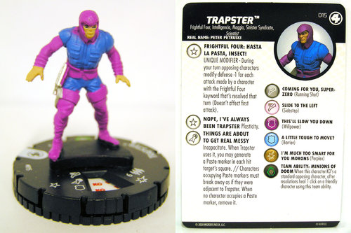 HeroClix - #015 Trapster - Fantastic Four