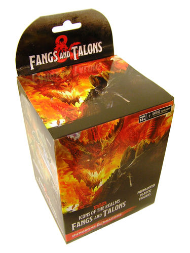D&D Icons of the Realms Set 15: Fangs and Talons Booster Pack