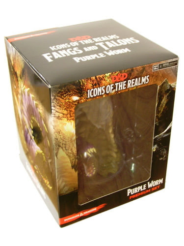 D&D Icons of the Realms Set 15: Fangs and Talons Purple Worm Premium Figure