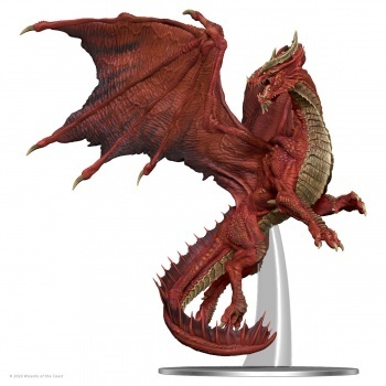 WZK96032 D&D Icons of the Realms: Adult Red Dragon Premium Figure