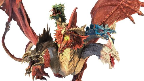 PREORDER WZK96105 D&D Icons of the Realms Gargantuan Tiamat