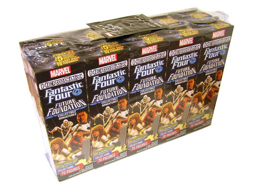 HeroClix Fantastic Four Future Foundation Booster Brick