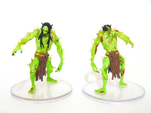 D&D - #039 Rot Troll Large Figure - Boneyard